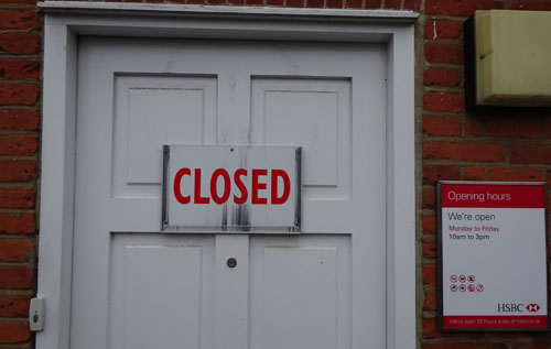 HSBC 'clinics' to be withdrawn | Reepham Life